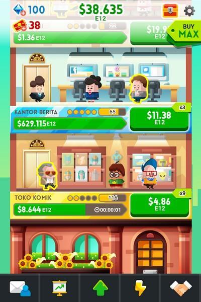 Cash, Inc. Money Clicker Game & Business Adventure APK MOD imagen 2