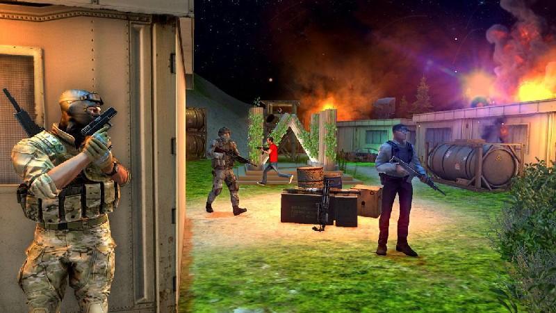 Commando Adventure Assassin APK MOD imagen 4