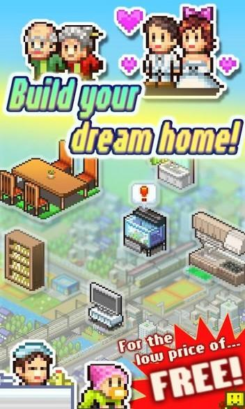Dream House Days APK MOD imagen 1