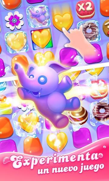 Jellipop Match Formerly Jelly Blast Match 3 Game APK MOD imagen 1