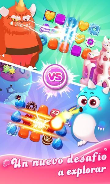 Jellipop Match Formerly Jelly Blast Match 3 Game APK MOD imagen 2