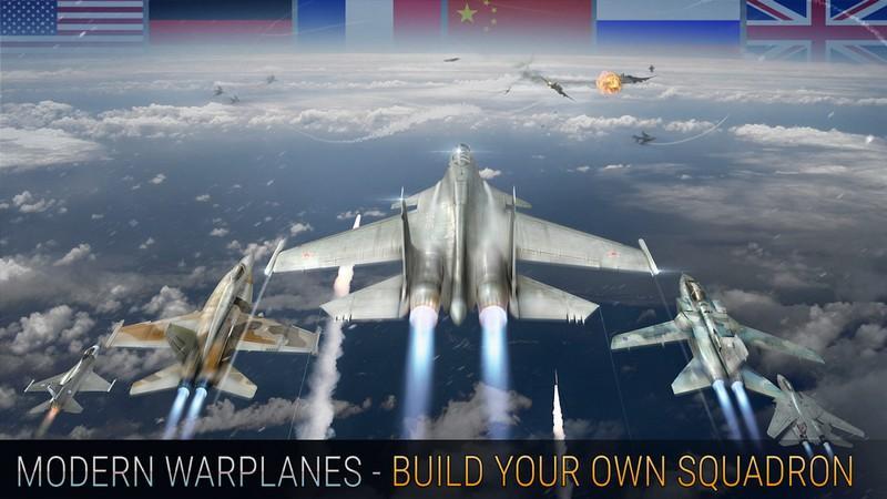 Modern Warplanes APK MOD imagen 3