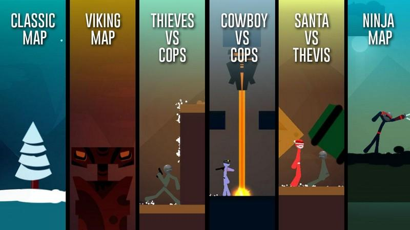 Stickman Fight The Game APK MOD imagen 1