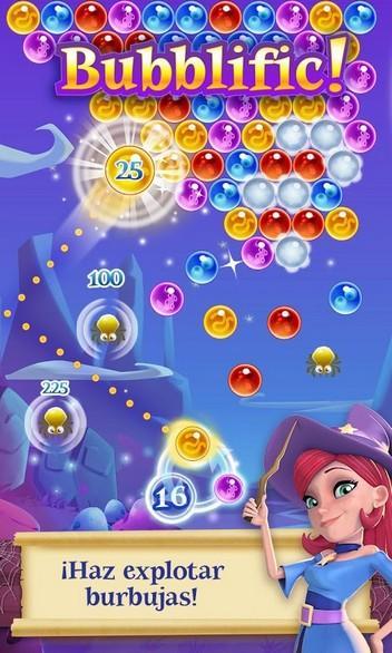 Bubble Witch 2 Saga APK MOD imagen 1