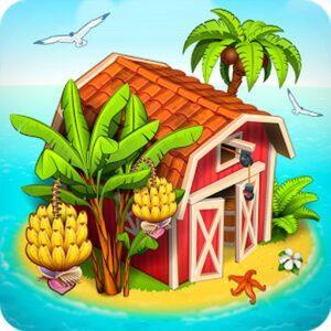 Farm Paradise Hay Island Bay APK MOD