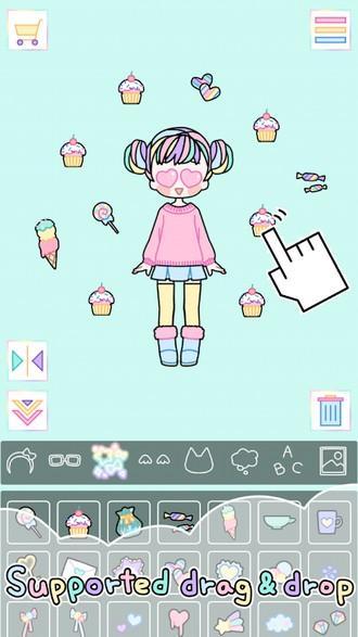 Pastel Girl APK MOD imagen 3