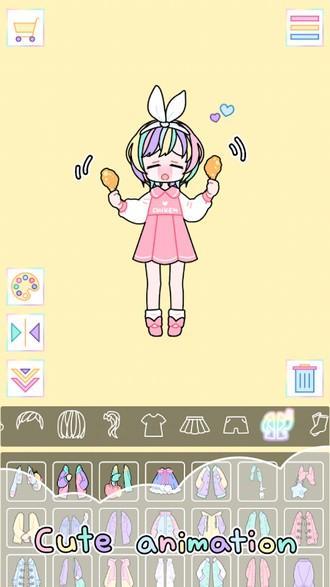 Pastel Girl APK MOD imagen 4