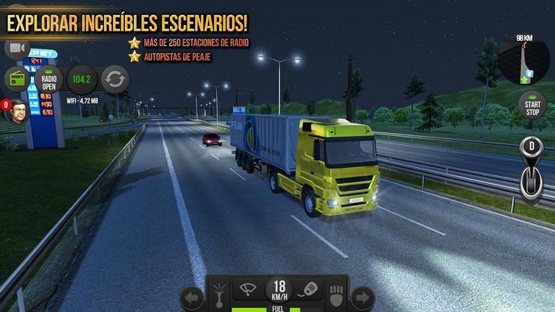 Truck Simulator 2018 Europe APK MOD imagen 2
