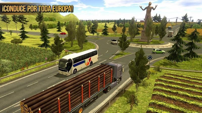 Truck Simulator 2018 Europe APK MOD imagen 3