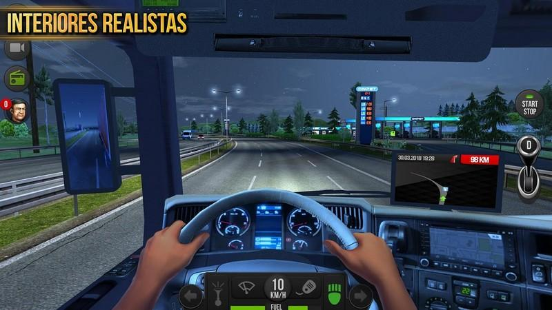 Truck Simulator 2018 Europe APK MOD imagen 4