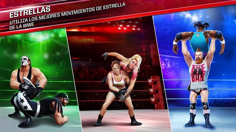 WWE Mayhem APK MOD imagen 2