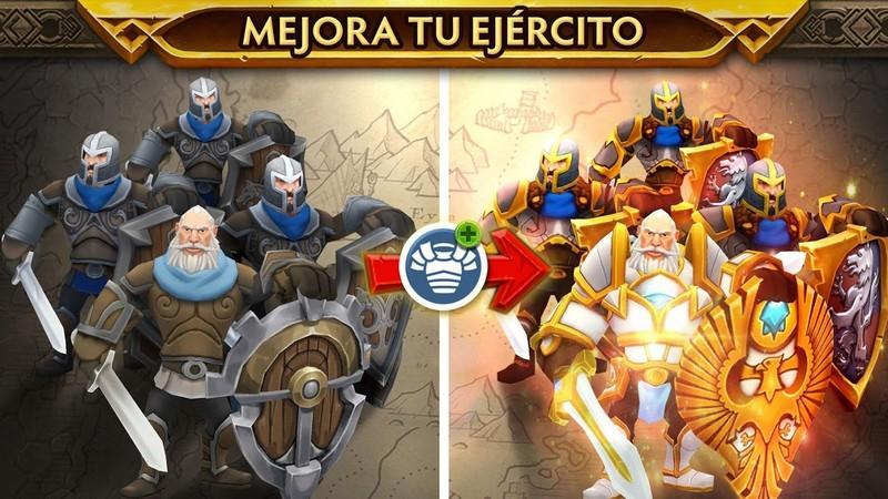 Warlords of Aternum APK MOD imagen 5
