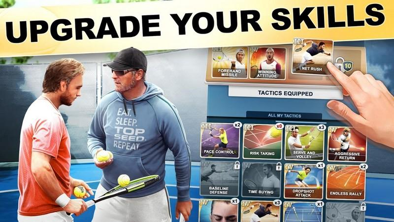TOP SEED Tennis Sports Management Simulation Game APK MOD imagen 2