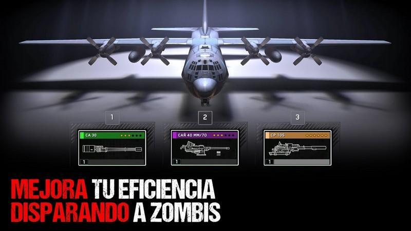 Zombie Gunship Survival APK MOD imagen 1