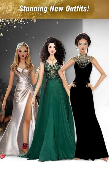 International Fashion Stylist Model Design Studio APK MOD imagen 1