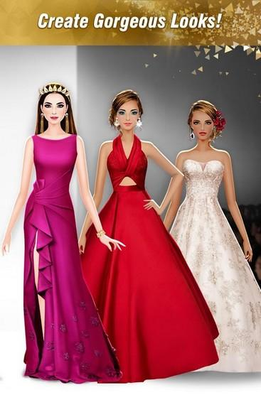 International Fashion Stylist Model Design Studio APK MOD imagen 2