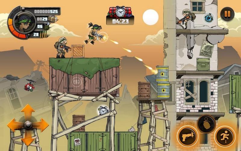 Metal Soldiers 2 APK MOD imagen 1