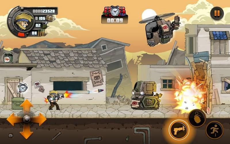 Metal Soldiers 2 APK MOD imagen 2