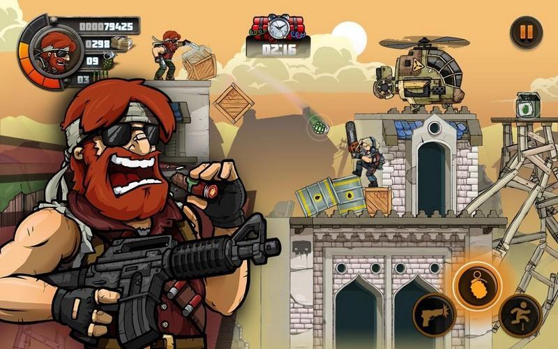 Metal Soldiers 2 APK MOD imagen 4