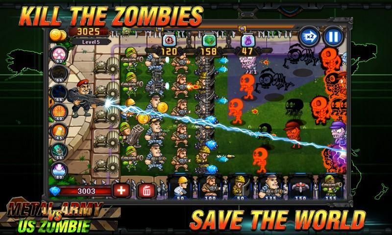 Army vs Zombies APK MOD imagen 3