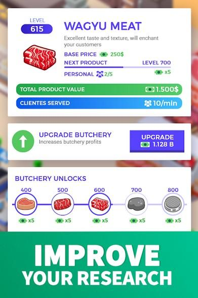 Idle Supermarket Tycoon - Tiny Shop Game APK MOD imagen 3