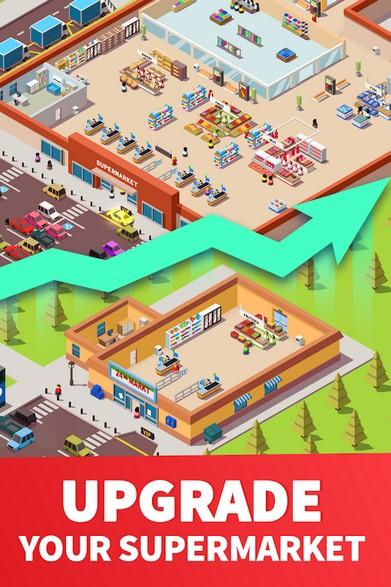 Idle Supermarket Tycoon - Tiny Shop Game APK MOD imagen 4