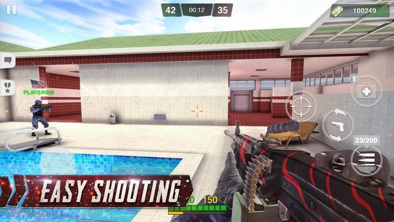 Special Ops Gun Shooting - Online FPS War Game APK MOD imagen 2