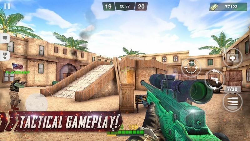 Special Ops Gun Shooting - Online FPS War Game APK MOD imagen 3