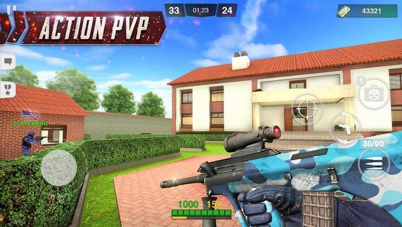 Special Ops Gun Shooting - Online FPS War Game APK MOD imagen 4