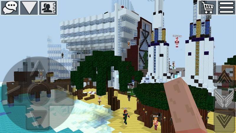 WorldCraft 3D Build & Craft APK MOD imagen 3