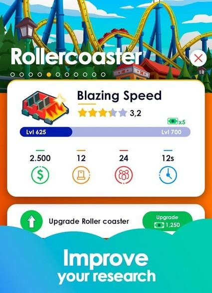 Idle Theme Park Tycoon - Recreation Game APK MOD imagen 3