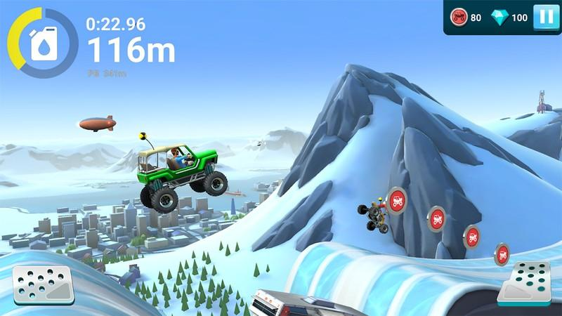 MMX Hill Dash 2 APK MOD imagen 1