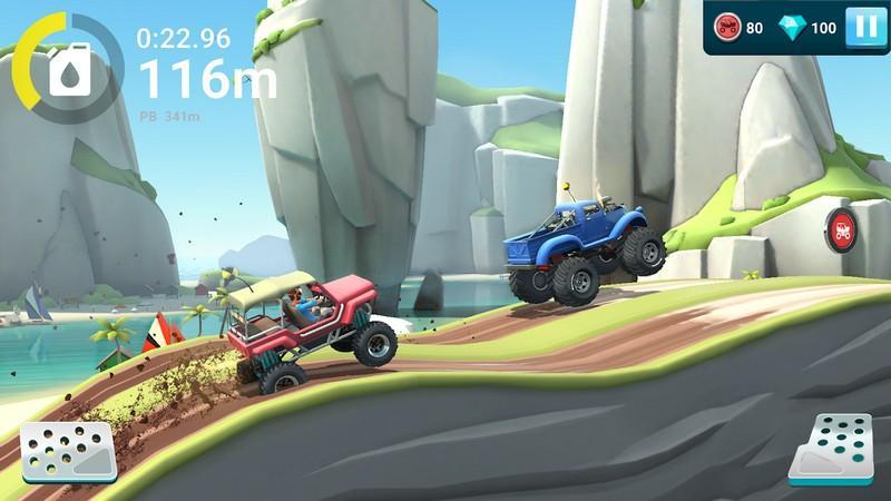 MMX Hill Dash 2 APK MOD imagen 3