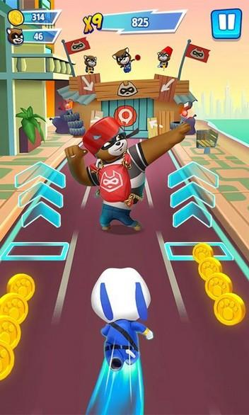 Talking Tom Hero Dash APK MOD imagen 2