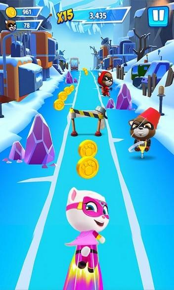 Talking Tom Hero Dash APK MOD imagen 3
