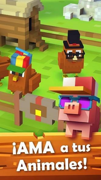Blocky Farm APK MOD imagen 2