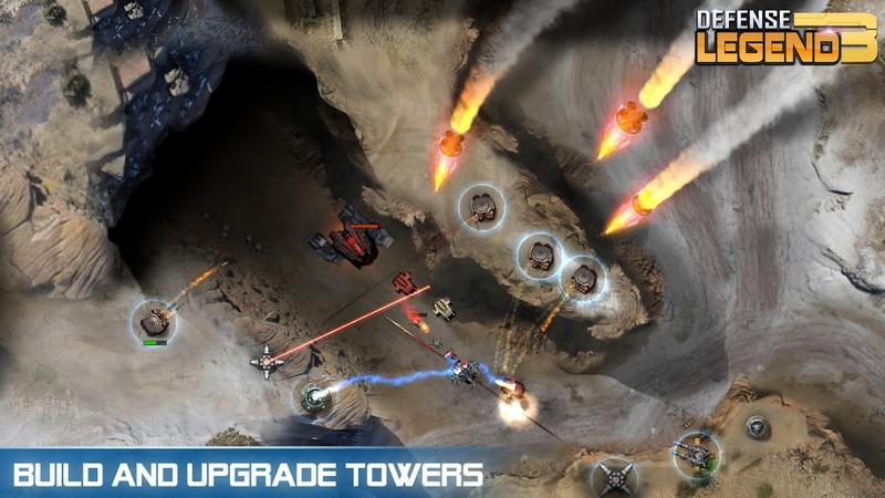 Defense Legend 3 Future War APK MOD imagen 1
