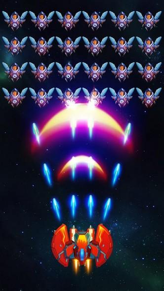 Galaxy Invaders Alien Shooter APK MOD imagen 1