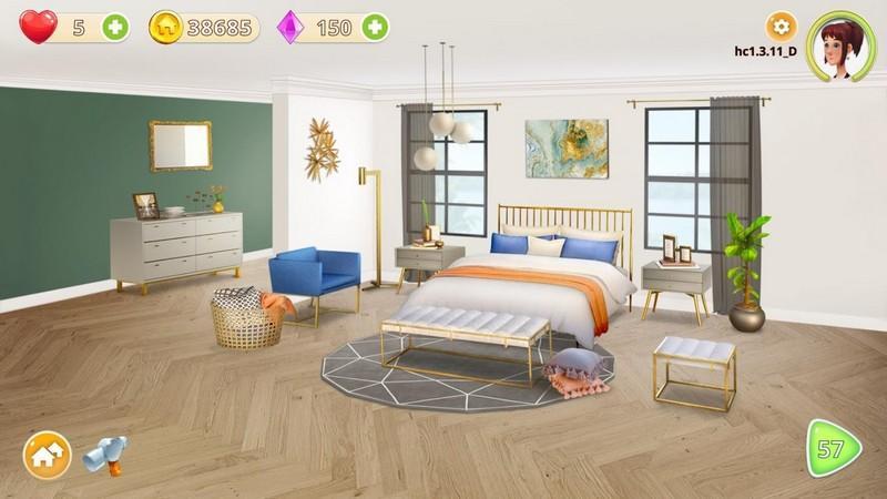 Homecraft - Home Design Game APK MOD imagen 2