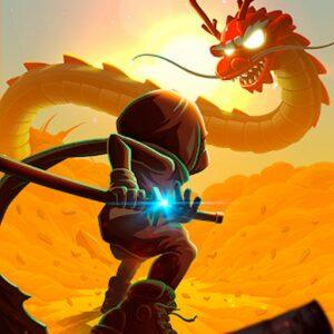Ninja Dash - Ronin Jump RPG APK MOD