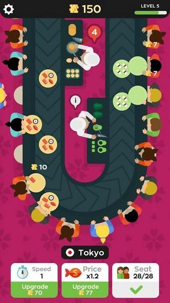 Sushi Bar APK MOD imagen 3