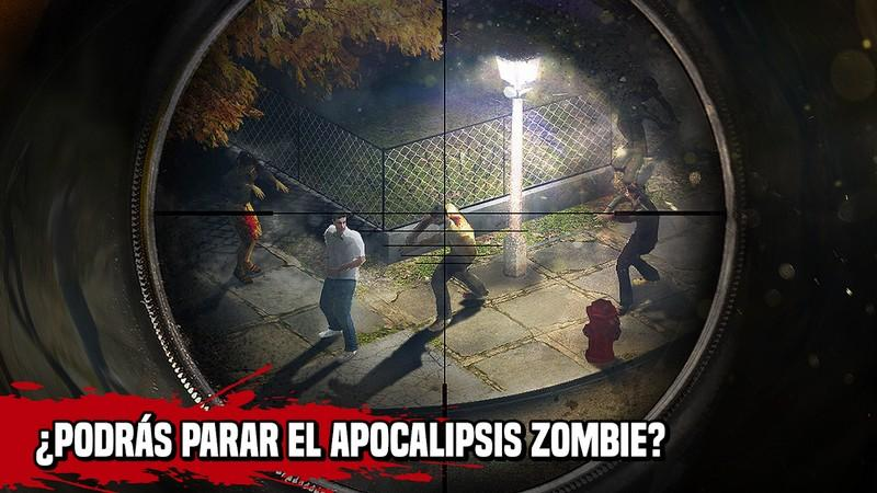 Zombie Hunter Sniper Apocalypse Shooting APK MOD imagen 3