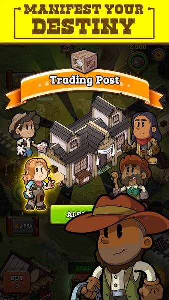 Idle Frontier Tap Town Tycoon APK MOD imagen 1