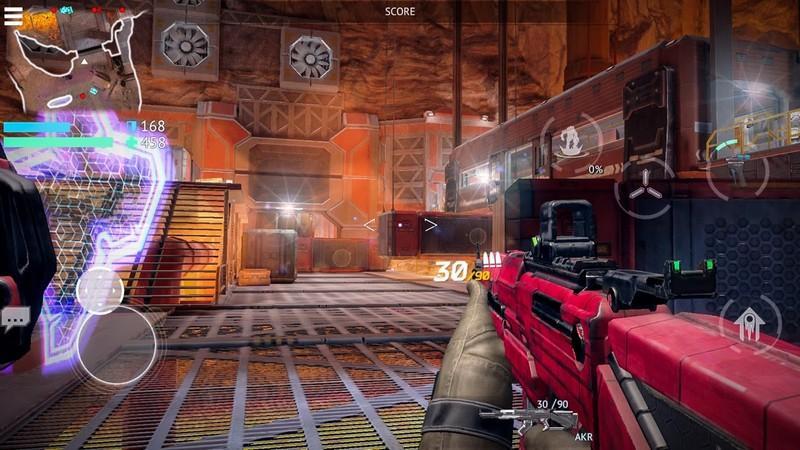 Infinity Ops APK MOD imagen 1