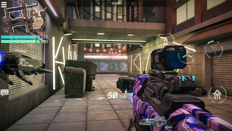 Infinity Ops APK MOD imagen 2