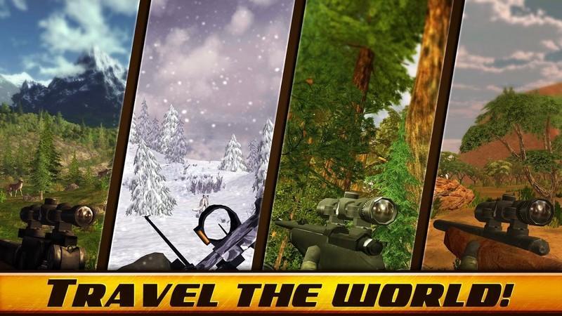 Wild Hunt Sport Hunting Games Hunter & Shooter 3D APK MOD imagen 2