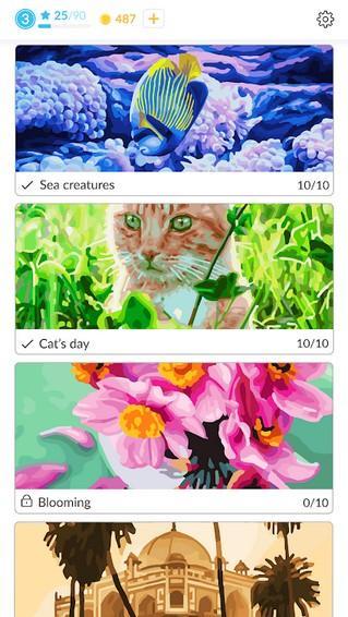 April Coloring APK MOD imagen 2