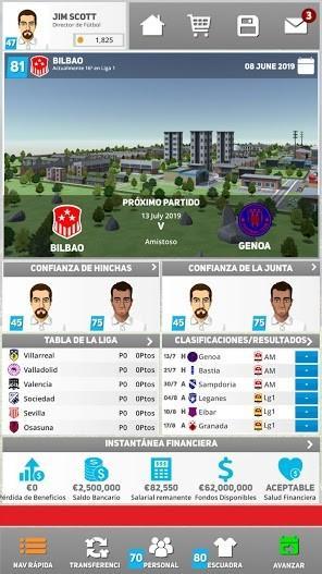 Club Soccer Director 2020 APK MOD Imagen 2