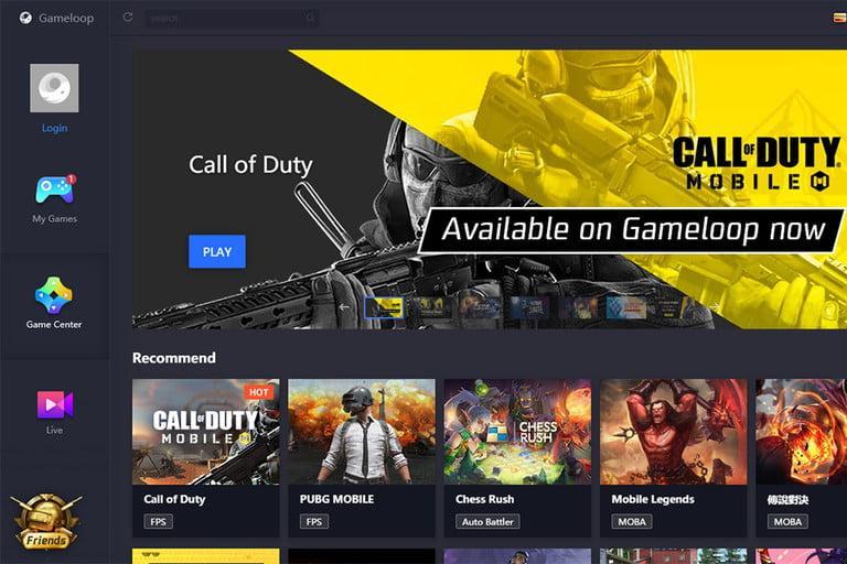 Como jugar Call of Duty Mobile en PC gameloop