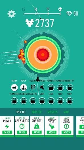 Planet Bomber! APK MOD Imagen 3
